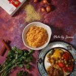 北非风味鸡肉配小米饭