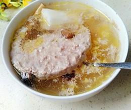 药材肉饼汤
