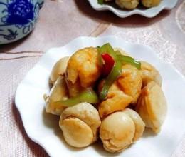 鱼丸焖豆腐