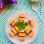 紫薯夹心蛋糕