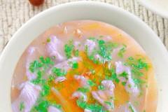 黄花菜肉汤
