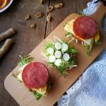早餐撩起来-开放式三明治