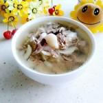百合猪心汤