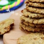 椰香燕麦饼干