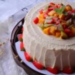 缤纷水果奶油蛋糕