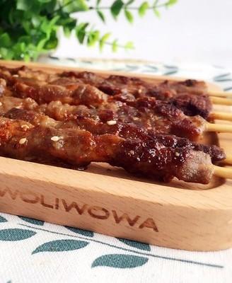 孜然烤羊肉串