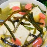 海带火腿豆腐汤