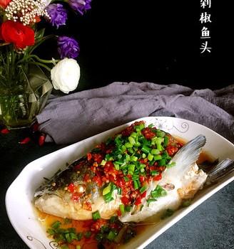 剁椒鱼头#樱花味道#