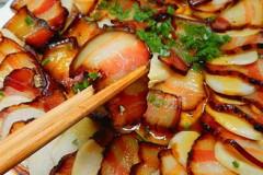 芋头蒸五花腊肉
