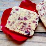 玫瑰蔓越莓饼干