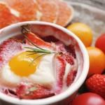 草莓水果鸡蛋杯,天亮前找到那个她。