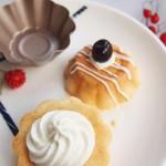 #樱花味道#蔓越莓天使杯子蛋糕
