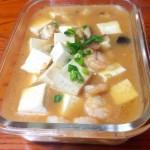 香菇虾仁烩豆腐