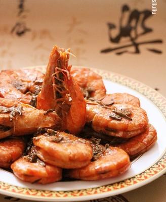 一香到底的茶香虾 #樱花味道#