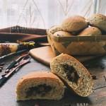 褐麦果仁小面包