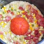 整个番茄饭