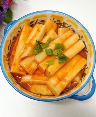 茄汁炒年糕