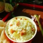 火腿土豆燜飯