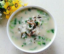 鳝丝青菜粥