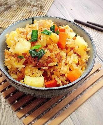 香焖土豆炒饭