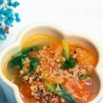 藜麦青菜番茄汤