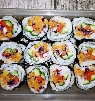 寿司的制作