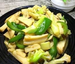 花菜炒藕条