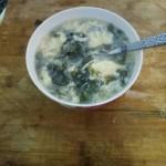 简单的紫菜蛋花汤