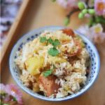 香焖土豆饭#樱花味道#
