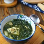 香椿鸡蛋紫菜汤