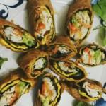 鸡蛋寿司卷
