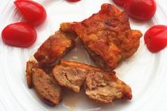 蒜香鸡腿肉