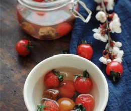春意太浓,一碗话梅小番茄来化开这春色