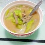 猪肝瘦肉苦瓜汤
