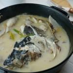 芋儿鱼头汤#樱花味道#