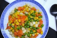 玉米荸荠丁