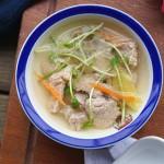 猪肉豆苗汤