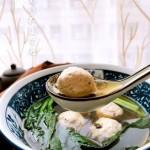 牛肉丸菠菜汤