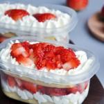 草莓奶油蛋糕盒子