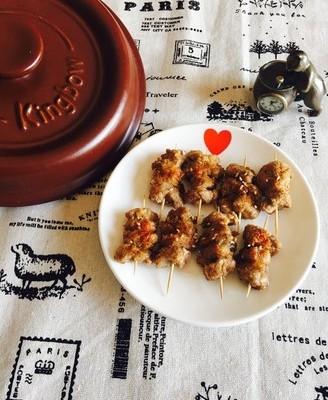 砂锅烤羊肉串