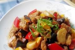 蒜子陈皮炒鸡