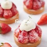 草莓季甜品-草莓塔