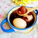 红枣桂圆煮鸡蛋