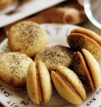 提拉米苏小饼干#樱花味道#