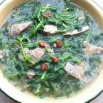 益母草猪肝汤