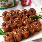 双酱百叶卷#好吃懒做的简单料理#