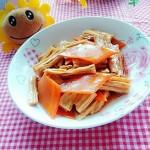 胡蘿卜燒腐竹