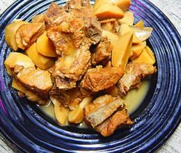 杏鲍菇烧排骨