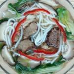 香菇牛肉米粉