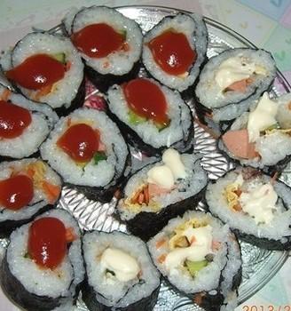 爱心便当寿司